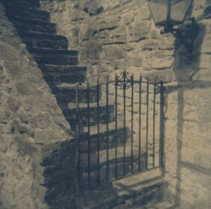 Gate and Stairs